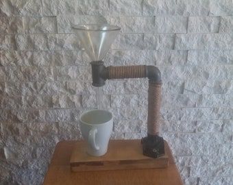 Little Dripper Pour Over Coffee Stand | Pour Over Coffee Maker | Drip Coffee Maker | Coffee Stand | Drip Coffee Stand | Industrial | Chemex
