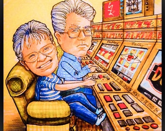 CARICATURE of It's GREAT to be RETIRED!
