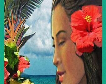 Wahine (Polynesian Card Line)