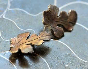 Sterling Silver Mulberry Leaf finding