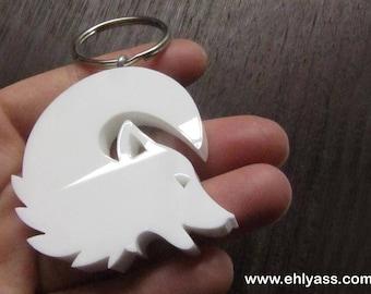 White Wolf key fob