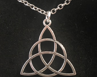 Triquetra Trinity Knot Necklace