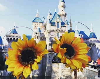 Sunflower Mickey Mouse Ears