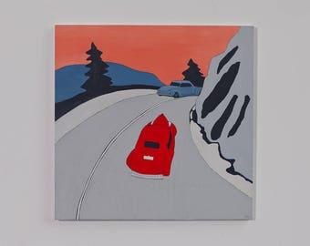 Happy Motoring, original painting