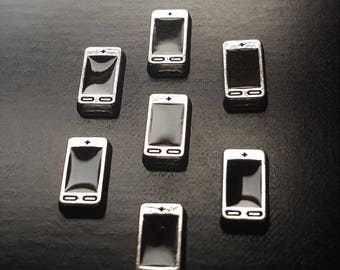 Cell Phone Floating Charm for Floating Lockets-1 Piece-Gift Idea