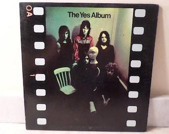 Vintage 1971 Vinyl LP Record The Yes Album Atlantic Records Excellent Condition 14840