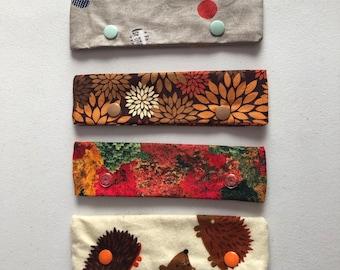 Needle Cozies -Autumnal