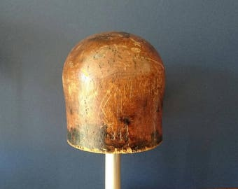 1940s/50s June Millinery Crown Hat Block