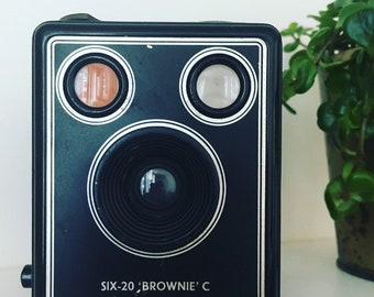Six-20 Brownie Made camera in Kodak
