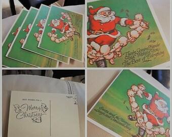 Vintage Cupie Doll Christmas Postcards