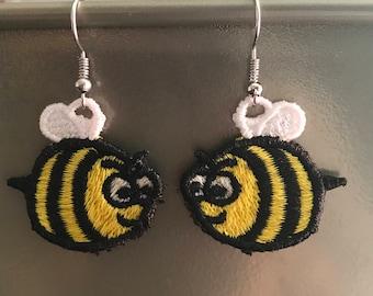 Adorable FSL BEE earrings