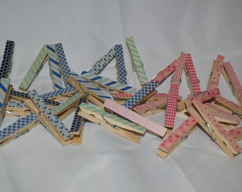30 Baby Shower Clothespins