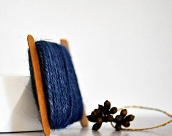 Chunky Denim Blue Twine {10.0m}   Chunky Twine   Blue Jute Twine   Rustic Blue Twine   Winter Blue Twine   Blue Jute Twine