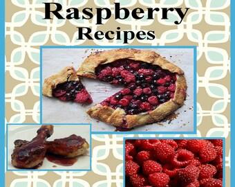 273 Raspberry Recipes E-Book Cookbook Digital Download