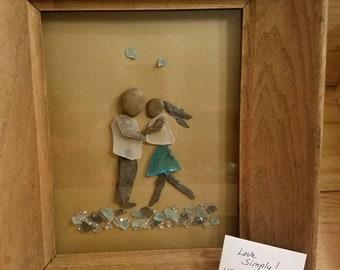 Love Rocks! ...Pebble art