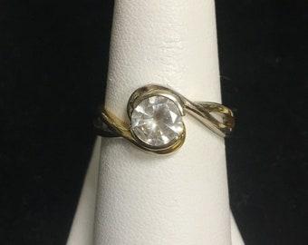 0.78ct RBC Diamond Engagement Ring