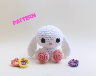Amigurumi Bunny Pattern, Crochet Bunny Pattern, Crochet Easter Patterns, Amigurumi Easter Pattern, Easter Bunny Pattern, Crochet Patterns