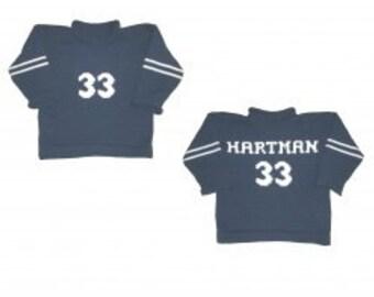 Custom Knit Varsity  Sweater