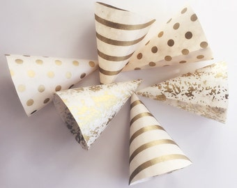 Decorative confetti cones