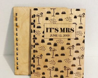 Wooden Notebook Cover *Custom*