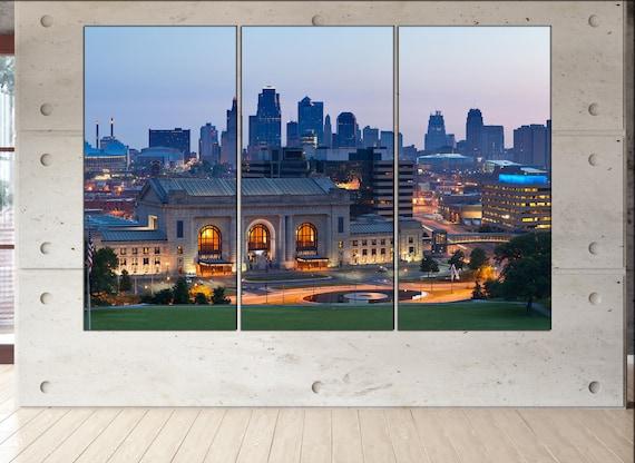 Kansas City skyline Kansas skyline Kansas city mo Kansas wall art Kansas print kansas city missouri Kansas city art
