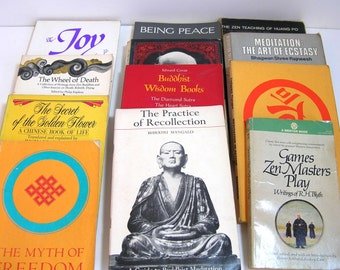 Zen, Buddhist, Meditation, Eastern Religion, Book Collection