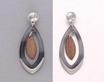 Teardrop Earrings, Elegant gift for her,