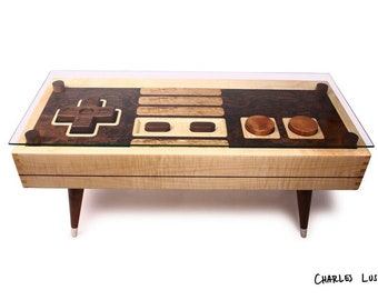 8-bit Retro Gaming Coffee Table