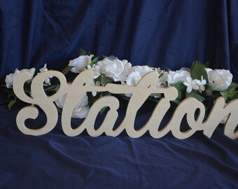 Wedding Words - Table Decor - Wedding Decor - Wooden Word Sign - Wood Sign - Marriage Words - Bride and Groom Sign