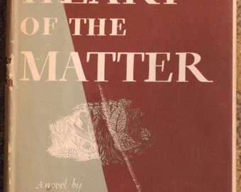 The Heart of the Matter | Graham Greene (1948, Book of the Month Club Selection)