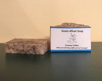 Creamy Coffee Goats Milk Soap