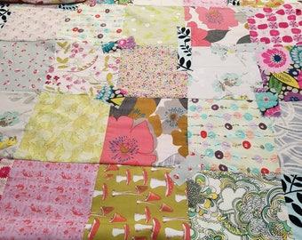 Fairy garden quilt