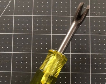 Staple Remover & Tack Lifter Professional Upholstery tool - upholstery supply - re-purpose - upholstery