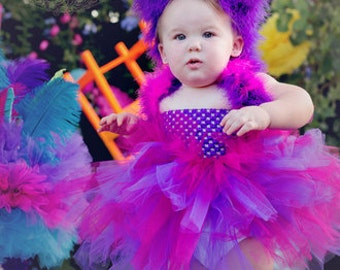 Cheshire Cat - Cheshire Cat Costume - Tutu Dress - Alice in Wonderland - Pageant Costume - Pageant Dress - Mad Hatter Tea Party - Halloween