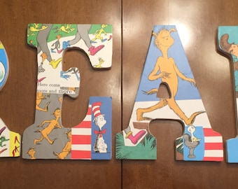 Dr. Seuss Nursery Letters
