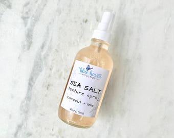 Sea Salt Spray, Sea Salt Hair Spray, Himalayan Sea Salt, Beach Hair Spray, Gifts for Her
