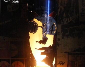 Joey Ramone Beer Can Lantern! The Ramones, Punk, Pop Art Lamp Unique Gift