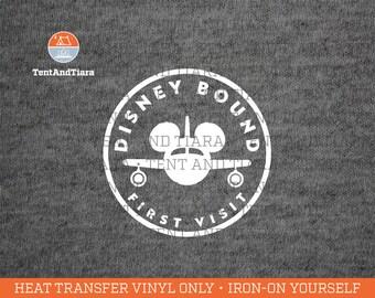 Disney Iron-On Transfers, Shirt Decal, Disney Family Shirts, DIY Disney Shirts, Magical Vacation, First Visit