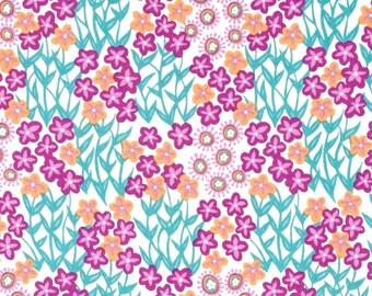 54068 - Joel Dewberry Cali Mod Fantasy flora in Lavender  color - 1/2 yard