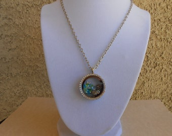 Beach Dreams Memory Locket Necklace