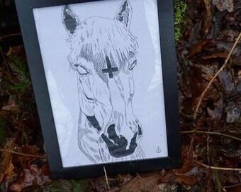 Original Horse drawing