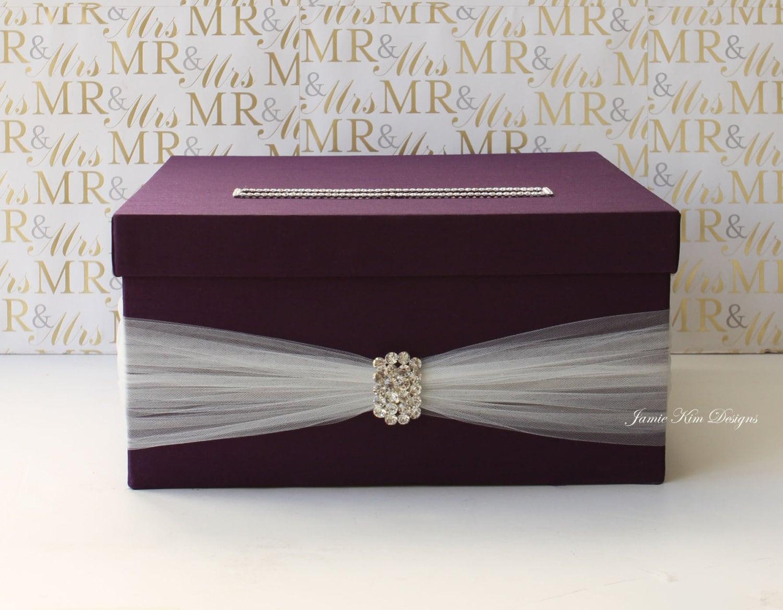 Wedding card box Wedding Money Box Custom Made to Order
