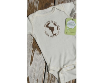 EARTH DAY SALE! 12/18 Month Organic Onesie, Organic Baby Clothes, Cute Baby Onesie, Baby Girl, Baby Boy, Cute Baby Shower Gift, Eco Friendly