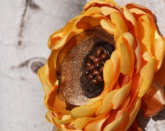 PDF Pattern Fabric Flower -- Camellia and Sunflower Patterns included
