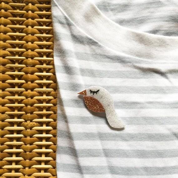 Piou-Piou - Handmade - brooch - La Rochelle