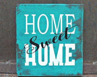 HOME Sweet HOME | Wood Signs | Housewarming Gift | Home Decor | Wall Decor | Wedding Gift | Room Decor | Mantel Decor