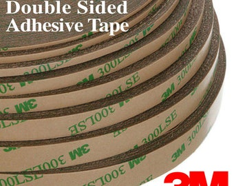 Genuine 3M 300LSE Clear Super Sticky Double Sided Adhesive Tape for Cell Phone Repair & Multipurpose Use