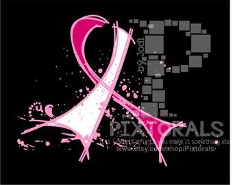 Breast Cancer Awareness Ribbon! PNG's, EPS Vectors, JPG, Clip Art, Awareness Ribbon
