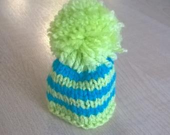 Bespoke hand knitted bobblehat