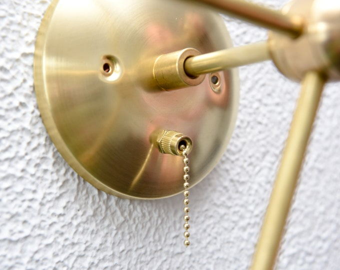 Add a Pull Chain Switch to Any Item Polished Nickel or Brass